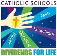 Catholic Schools and their benefits graphic