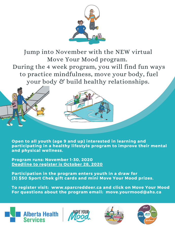 Move Your Mood Poster