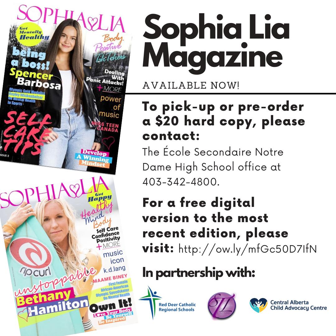 Sophia Lia Magazine